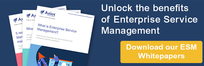 Unlock the benefits of Enterprise Service Management