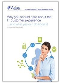 Improving the IT customer experience