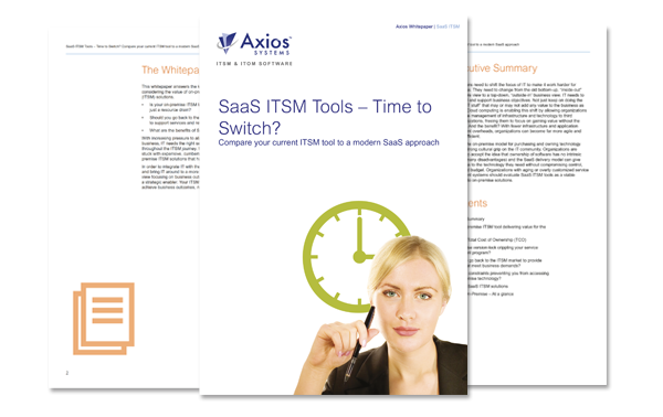 SaaS ITSM Software – Value without the overheads