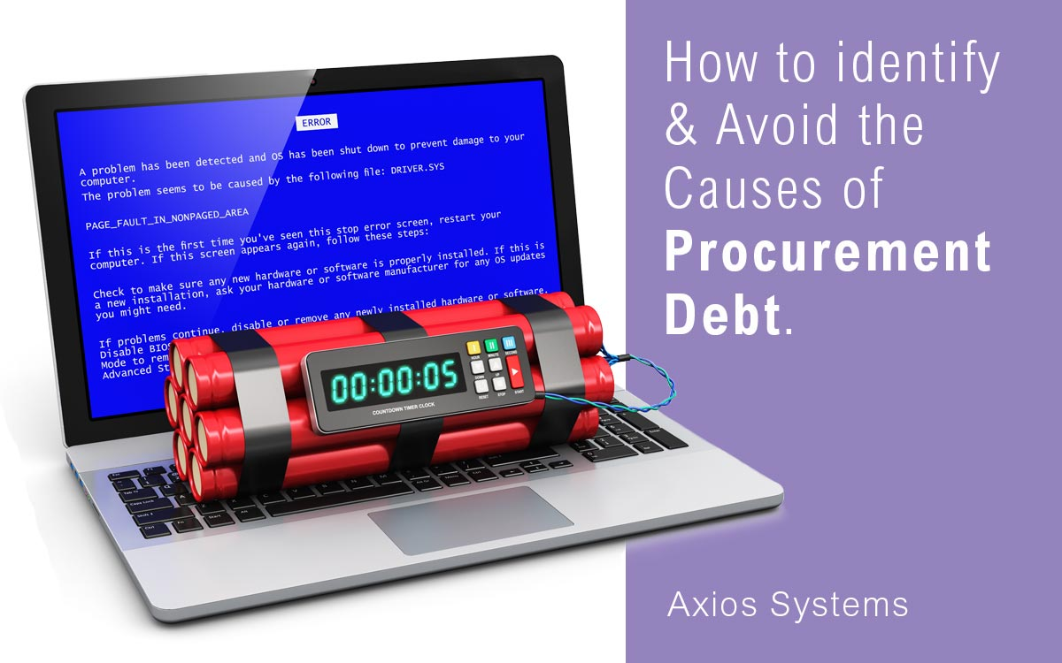 What is Procurement Debt? The pain you avoid when you make a great tech purchasing decision